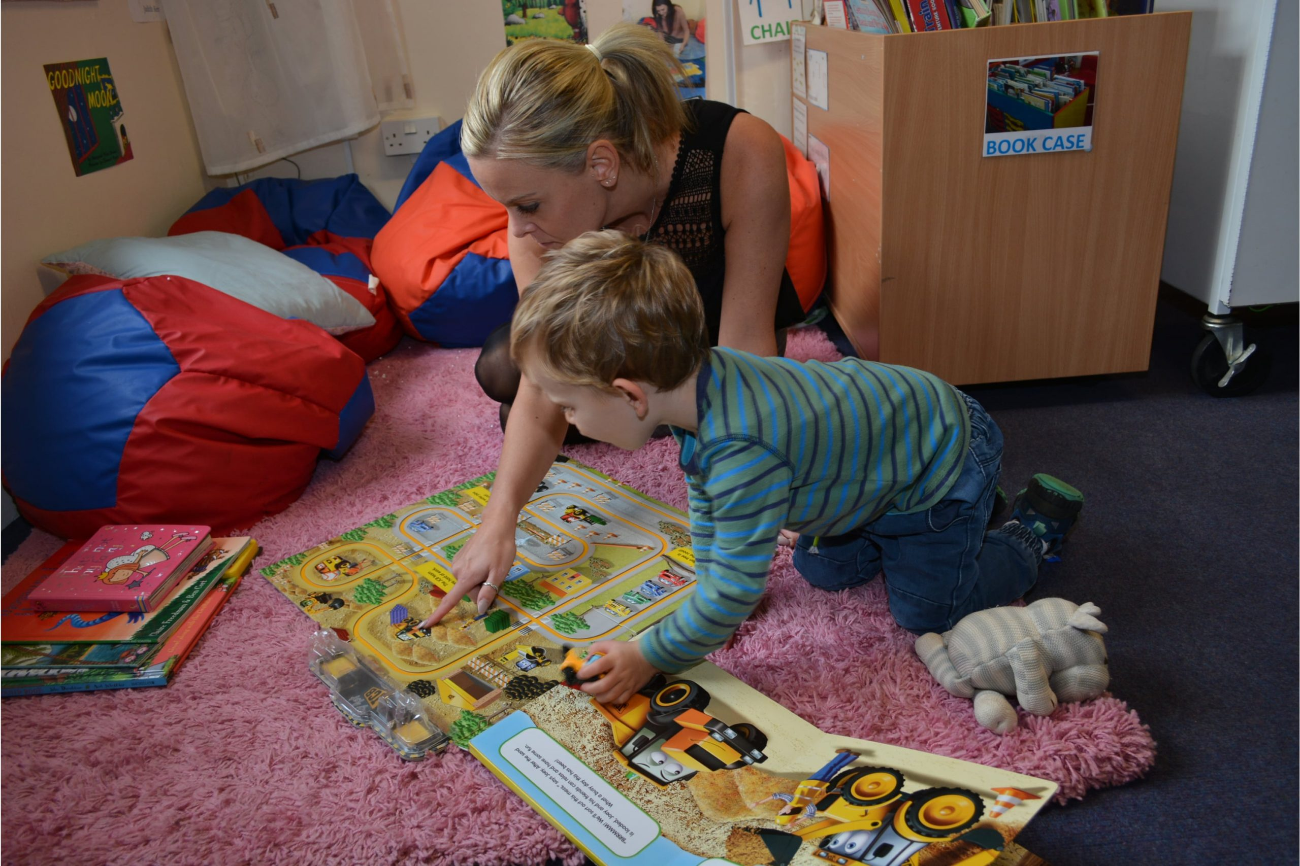 Sixth Form student on childcare placement